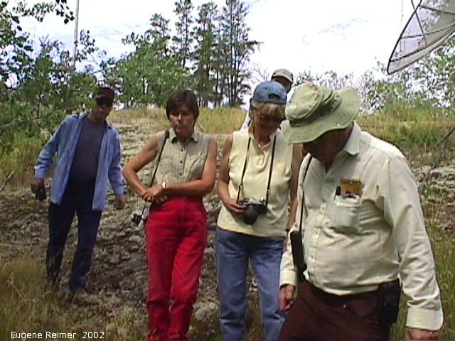 IMG 2002-Jul29 at near FalconLake:  group-2002 on fieldtrip