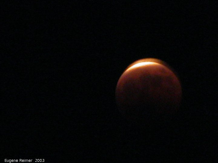 IMG 2003-May15 at BirdsHillPark of the lunar-eclipse:  lunar-eclipse 22:08 about 97pct eclipsed