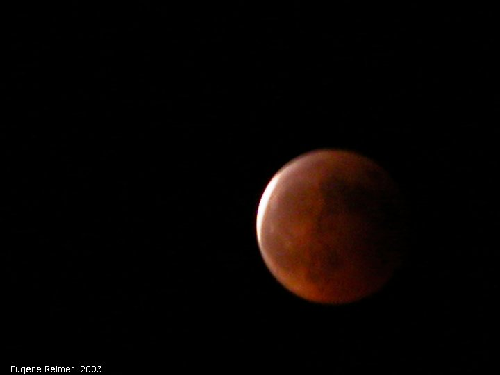 IMG 2003-May15 at BirdsHillPark of the lunar-eclipse:  lunar-eclipse 23:09 about 3pct uneclipsed