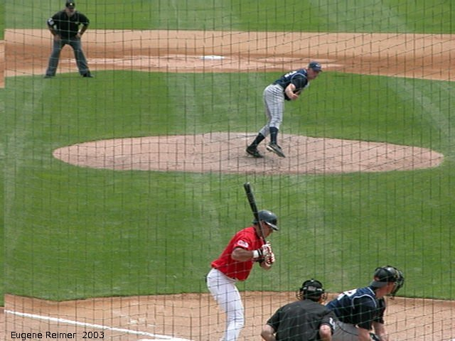 IMG 2003-Jun05 at CanWestGlobalPark:  Goldeyes-2003 steal frame#3