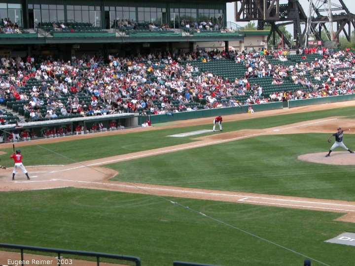IMG 2003-Jun05 at CanWestGlobalPark:  Goldeyes-2003 continuous Hi#1
