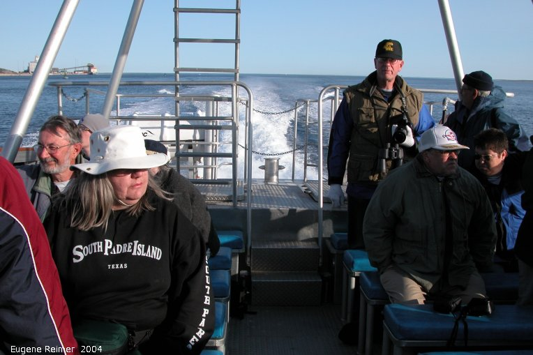 IMG 2004-Jul16 at the Wales & Whales Tour (FortPrinceOfWales+Beluga whaleWhales):  group-2004 on boat
