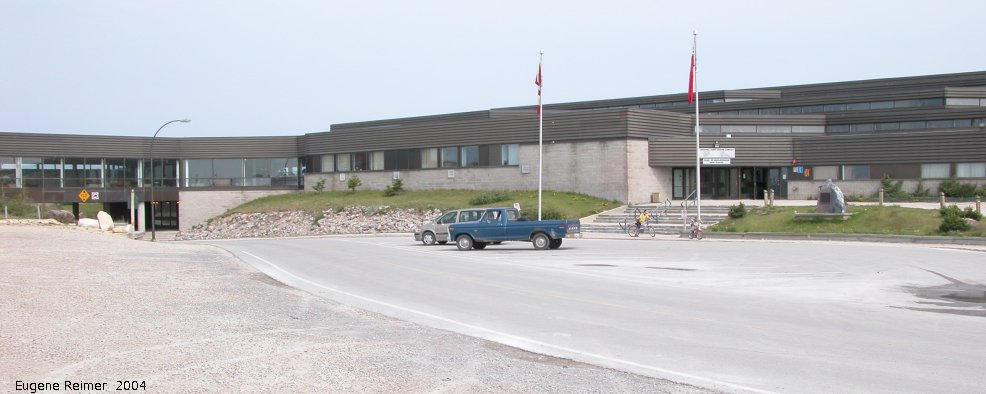 IMG 2004-Jul17 at town of Churchill:  Churchill school plus recreation complex