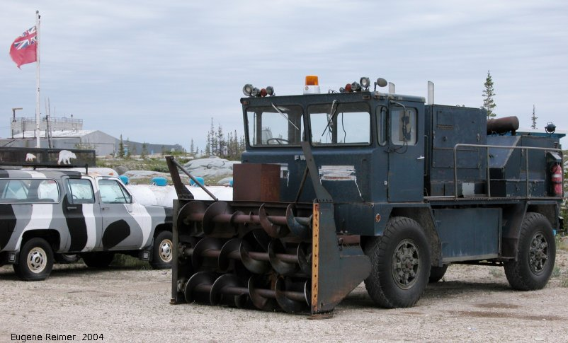 IMG 2004-Jul20 at near CNSC (afternoon):  snowblowing-lorry courtesy of USAF