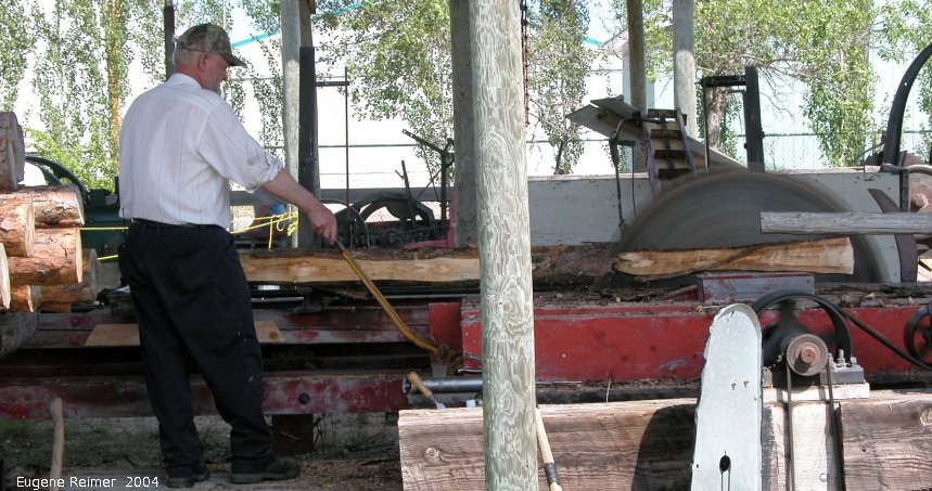 IMG 2004-Jul31 at Steinbach:  sawmill demonstration