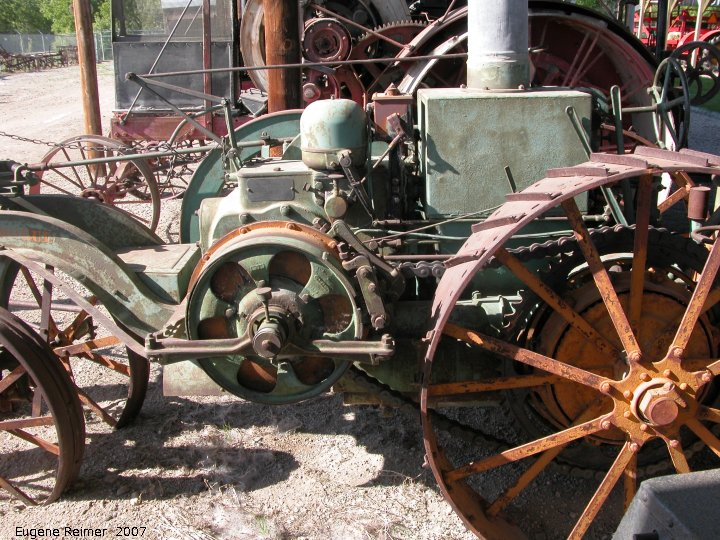 Drive Chain Tractor : Wdm museum tranverse engine chain drive tractor
