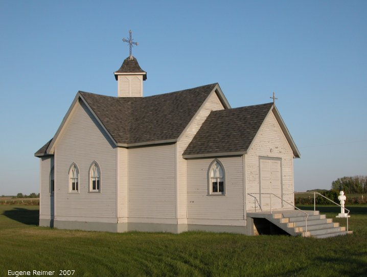 IMG 2007-May26 at Hwy5 near Canora-SK:  church St Peter and Paul Romanian Orthodox Church