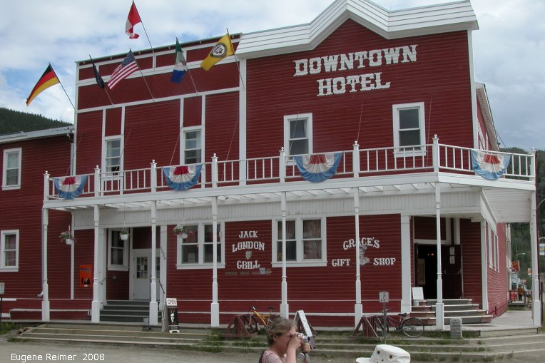 IMG 2008-Jul06 at downtown DawsonCity-YT:  building Downtown Hotel