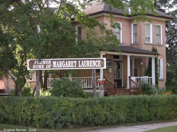 IMG 2008-Jul17 at Neepawa-MB:  building Margaret Lawrence house